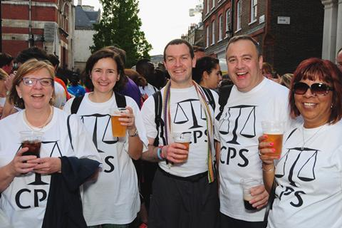 Team CPS at London Legal Walk 2017